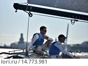 Extreme Sailing Series in St. Petersburg, Russia, фото № 14773981, снято 22 августа 2015 г. (c) Stockphoto / Фотобанк Лори