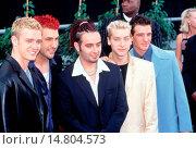 Купить «'N Sync at the Blockbuster Awards, 1999, LA, CA by Robert Hepler.», фото № 14804573, снято 14 июня 2002 г. (c) age Fotostock / Фотобанк Лори
