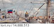 Купить «Парусные суда. Нева. Санкт-Петербург», эксклюзивное фото № 14888513, снято 9 июля 2009 г. (c) Александр Алексеев / Фотобанк Лори
