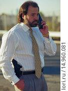 Private Investigator Bo Dietl. Стоковое фото, фотограф Michael Brennan / age Fotostock / Фотобанк Лори