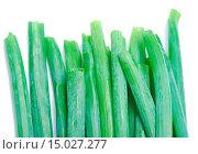 Купить «green onion isolated on white», фото № 15027277, снято 18 ноября 2017 г. (c) age Fotostock / Фотобанк Лори