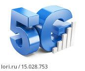Купить «5G знак. Высокоскоростные мобильные Web-технологии.», иллюстрация № 15028753 (c) Маринченко Александр / Фотобанк Лори
