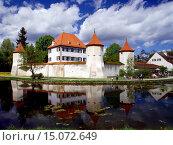 Купить «Blutenburg Castle, Germany, Bavaria, Muenchen», фото № 15072649, снято 4 июля 2020 г. (c) age Fotostock / Фотобанк Лори