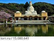 Купить «Ryozen Kannon is a war memorial commemorating the War dead of the Pacific war located in Eastern Kyoto, Statue of the Bodhisattva Avalokitesvara Kannon...», фото № 15080641, снято 28 марта 2014 г. (c) age Fotostock / Фотобанк Лори