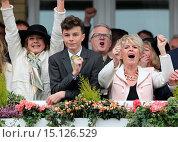 Купить «The Grand National Aintree festival Featuring: Gloria Hunniford Where: Liverpool, United Kingdom When: 05 Apr 2014 Credit: David Sims/WENN.com», фото № 15126529, снято 5 апреля 2014 г. (c) age Fotostock / Фотобанк Лори