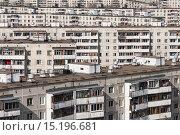 Купить «Виды Москвы. Жилые дома на востоке столицы. Хрущёбы», фото № 15196681, снято 26 марта 2008 г. (c) Михаил Михин / Фотобанк Лори