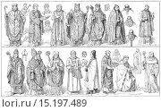 Купить «medieval vestments.», фото № 15197489, снято 28 ноября 2014 г. (c) age Fotostock / Фотобанк Лори