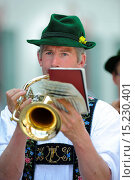 music brass band in Bavaria. Стоковое фото, фотограф Zoonar/Wolfilser / age Fotostock / Фотобанк Лори