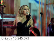 Купить «'The Today Show' was the spot to be on Friday morning as Heidi Klum and Mariah Carey both made appearances. Klum was interviewed and Carey performed live...», фото № 15245073, снято 16 мая 2014 г. (c) age Fotostock / Фотобанк Лори