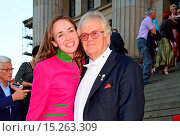 Купить «Justus Frantz, his wife Ksenia Dubrovskaya at Justus Frantz 70th birthday concert at Konzerthaus. Where: Berlin, Germany When: 20 May 2014 Credit: AEDT/WENN.com», фото № 15263309, снято 20 мая 2014 г. (c) age Fotostock / Фотобанк Лори