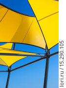Australia, South Australia, Glenelg, seafront banners. Стоковое фото, фотограф Walter Bibikow / age Fotostock / Фотобанк Лори