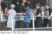 Купить «Gumball 3000 visit the Top Gear test track Featuring: Tinie Tempah Where: London, United Kingdom When: 09 Jun 2014 Credit: Owen Beiny/WENN.com», фото № 15313617, снято 9 июня 2014 г. (c) age Fotostock / Фотобанк Лори