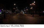 Купить «Time-lapse: Krakowskie Przedmiescie in Warsaw, Poland», видеоролик № 15314793, снято 29 ноября 2015 г. (c) BestPhotoStudio / Фотобанк Лори