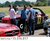 Купить «Gumball 3000 visit the Top Gear test track Featuring: Tinie Tempah Where: London, United Kingdom When: 09 Jun 2014 Credit: Owen Beiny/WENN.com», фото № 15316817, снято 9 июня 2014 г. (c) age Fotostock / Фотобанк Лори