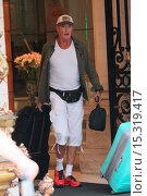Купить «David Hasselhoff leaving his hotel in Paris on the Gumball 3000 Featuring: David Hasselhoff Where: Paris, France When: 11 Jun 2014 Credit: Owen Beiny/WENN.com», фото № 15319417, снято 11 июня 2014 г. (c) age Fotostock / Фотобанк Лори