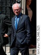 Купить «Herman Van Rompuy, President of the European Council, leaves 10 Downing Street after meeting British Prime Minister David Cameron. Featuring: Herman Van...», фото № 15346521, снято 23 июня 2014 г. (c) age Fotostock / Фотобанк Лори
