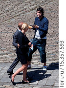 Купить «Sacha Baron Cohen filming scenes for his upcoming movie 'Grimsby' on location in Greenwich Featuring: Sacha Baron Cohen Where: London, United Kingdom When: 03 Jul 2014 Credit: WENN.com», фото № 15357593, снято 3 июля 2014 г. (c) age Fotostock / Фотобанк Лори