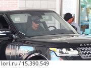 Купить «David Beckham drives his black Range Rover Autobiography to a petrol station in Beverly Hills Featuring: David Beckham Where: Los Angeles, California,...», фото № 15390549, снято 6 августа 2014 г. (c) age Fotostock / Фотобанк Лори