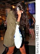 Купить «Jameela Jamil arrives at Los Angeles International (LAX) airport Featuring: Jameela Jamil Where: Los Angeles, California, United States When: 01 Sep 2014 Credit: WENN.com», фото № 15440321, снято 1 сентября 2014 г. (c) age Fotostock / Фотобанк Лори