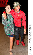Tequan Richmond and his girlfriend look very much in love whilst ... (2014 год). Редакционное фото, фотограф Winston Burris / WENN.com / age Fotostock / Фотобанк Лори