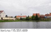 Купить «Church of Sts. Anna located in Barczewo, Poland», видеоролик № 15551609, снято 13 октября 2015 г. (c) BestPhotoStudio / Фотобанк Лори