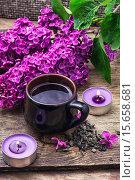 Купить «Branch of blossoming lilac», фото № 15658681, снято 25 мая 2019 г. (c) PantherMedia / Фотобанк Лори