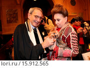 Купить «Blessing of the Animals event at Christ Church United Methodist on Park Ave Featuring: Rabbi Peter Rubinstein, Cindy Adams Where: New York, New York, United...», фото № 15912565, снято 7 декабря 2014 г. (c) age Fotostock / Фотобанк Лори
