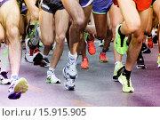 Купить «Close up of Running Feet.», фото № 15915905, снято 16 ноября 2014 г. (c) age Fotostock / Фотобанк Лори