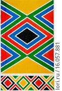 Купить «traditonal wall painting in a Zulu Village, South Africa», фото № 16057881, снято 19 ноября 2006 г. (c) age Fotostock / Фотобанк Лори