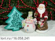 Дед Мороз с подарками. Стоковое фото, фотограф Сергей Панкин / Фотобанк Лори