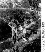 Купить «California: c. 1885.A gold miner in California with his gear.», фото № 16090149, снято 10 декабря 2019 г. (c) age Fotostock / Фотобанк Лори