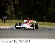 Niki Lauda's Formula 1 debut for the BRM team in a P160 at the Argentine GP, Buenos Aires Autodrome, Argentina, 28 Jan 1973. Стоковое фото, фотограф GP Library \ UIG / age Fotostock / Фотобанк Лори
