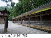 Купить «Japan, Sanin Region, Shimane Prefecture, Izumo City, View of Izumo Taisha Shrine.», фото № 16161785, снято 14 ноября 2018 г. (c) age Fotostock / Фотобанк Лори