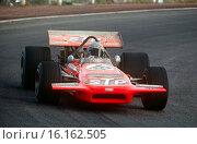 Spanish GP, Jarama, April 14th, 1970. Mario Andretti, STP March-Cosworth, finished 3rd. Стоковое фото, фотограф GP Library \ UIG / age Fotostock / Фотобанк Лори