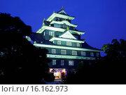 Купить «Japan, Sanyo Region, Okayoma Prefecture, Okayama, Okayama Castle.», фото № 16162973, снято 23 октября 2018 г. (c) age Fotostock / Фотобанк Лори