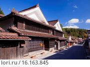 Купить «Japan, Sanyo Region, Okayoma Prefecture, Takahashi, Fukiya Furusato Village.», фото № 16163845, снято 20 марта 2019 г. (c) age Fotostock / Фотобанк Лори