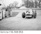 Jose Froilan Gonzalez in his Ferrari, 1952. Стоковое фото, фотограф GP Library \ UIG / age Fotostock / Фотобанк Лори