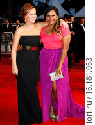 Amy Poehler, Mindy Kaling - Cannes/France/France - 68TH CANNES FILM FESTIVAL - RED CARPET VICE VERSA (2015 год). Редакционное фото, фотограф Visual/SLF/PicturePerfect / age Fotostock / Фотобанк Лори