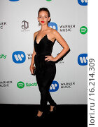 Купить «The Warner Music Group GRAMMY Party Featuring: Guest Where: West Hollywood, California, United States When: 08 Feb 2015 Credit: FayesVision/WENN.com», фото № 16214309, снято 8 февраля 2015 г. (c) age Fotostock / Фотобанк Лори