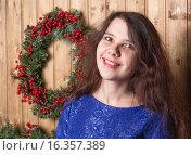 Девушка и венок. Стоковое фото, фотограф Алексей Чубов / Фотобанк Лори