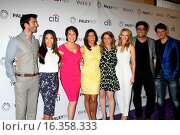 """Купить «PaleyFEST LA 2015 - """"Jane the Virgin"""". PaleyFEST is a television festival where episodes of the tv show are screened, and panel discussions are held with...», фото № 16358333, снято 15 марта 2015 г. (c) age Fotostock / Фотобанк Лори"""
