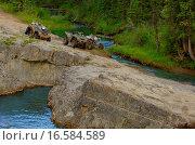 Купить «Quads on rocky terrain», фото № 16584589, снято 30 марта 2020 г. (c) easy Fotostock / Фотобанк Лори