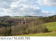 Купить «Göltzschtalbrücke _ Göltzsch valley bridge 28», фото № 16630785, снято 7 февраля 2008 г. (c) easy Fotostock / Фотобанк Лори