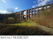 Купить «Göltzschtalbrücke _ Goltzsch valley bridge 35», фото № 16636521, снято 7 февраля 2008 г. (c) easy Fotostock / Фотобанк Лори