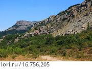 Обвал горы. Стоковое фото, фотограф Надежда Шапкина / Фотобанк Лори