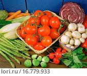 Vegetables still life. Стоковое фото, фотограф Emilio Ereza / easy Fotostock / Фотобанк Лори