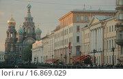 Купить «Спас-на-Крови, Санкт-Петербург», видеоролик № 16869029, снято 24 июля 2015 г. (c) Denis Mishchenko / Фотобанк Лори