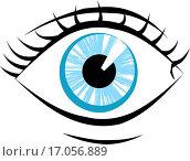 Купить «eye illustration», иллюстрация № 17056889 (c) easy Fotostock / Фотобанк Лори