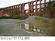 Купить «Göltzsch valley bridge», фото № 17112485, снято 8 апреля 2020 г. (c) easy Fotostock / Фотобанк Лори
