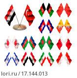 Купить «Asian flags 2. China», фото № 17144013, снято 22 июля 2019 г. (c) easy Fotostock / Фотобанк Лори